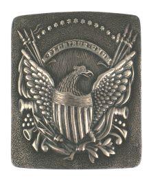 U.S. silver belt plate Infantry Dragoon Circa 1814 –