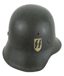 German M1942 Waffen SS combat helmet